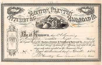 Boston, Clinton & Fitchburg Railroad