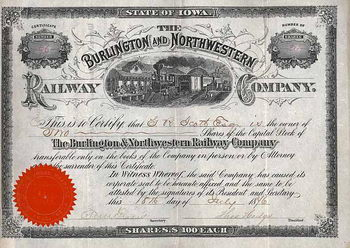 Burlington & Northwestern Railway