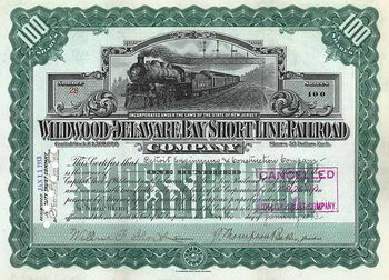 Wildwood & Delaware Bay Short Line Railroad
