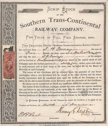 Southern Trans-Continental Railway