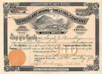 Cumberland Mining and Smelting Co.