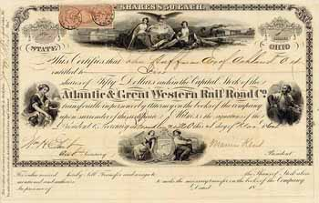 Atlantic & Great Western Rail Road