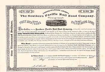 Southern Pacific Railroad (State of Texas)