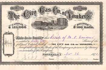 City Gas Co. of  Yonkers