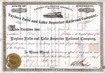 Taylors Falls and Lake Superior Railroad