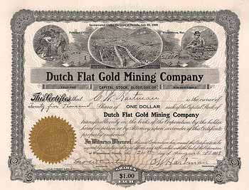 Dutch Flat Gold Mining