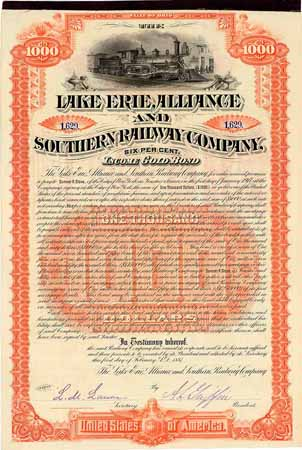 Lake Erie, Alliance & Southern Railway
