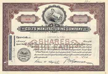 Colt's Manufacturing Co.