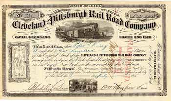 Cleveland & Pittsburgh Railroad