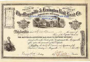 Maysville & Lexington Railroad (Northern Division)