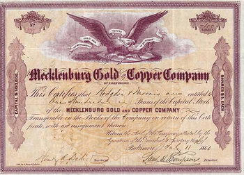 Mecklenburg Gold and Copper Co.