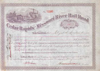 Cedar Rapids & Missouri River Railroad