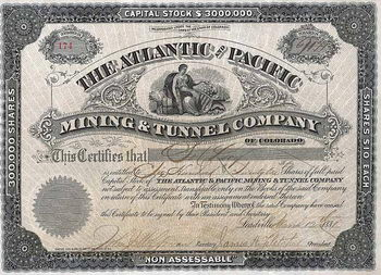 Atlantic and Pacific Mining & Tunnel Co.