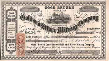 Good Return Cons. Gold and Silver Mining Co.