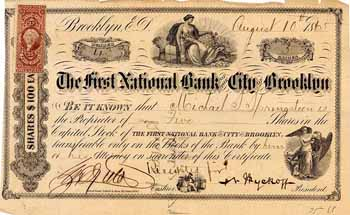 First National Bank of the City of Brooklyn