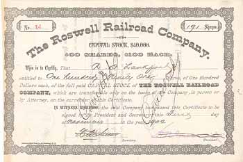 Roswell Railroad