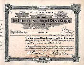 Canton & East Liverpool Railway Co.