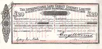 International Land Credit Co.