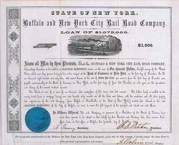 Buffalo & New York City Railroad