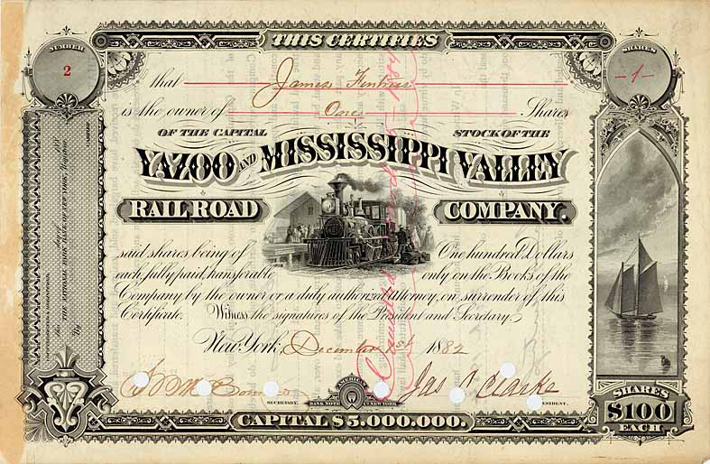 Yazoo & Mississippi Valley Railroad