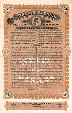 State of Paraná 5 % Gold Loan of 1905