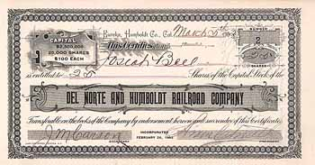 Del Norte & Humboldt Railroad