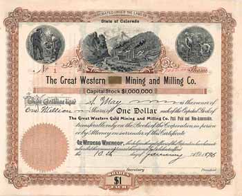 Great Western Gold Mining & Milling Co.