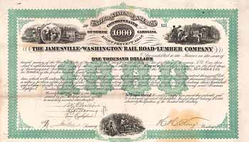 Jamesville and Washington Railroad and Lumber Co.