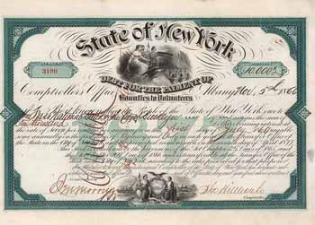 State of New York Debt for the Payment of Bounties to Volunteers