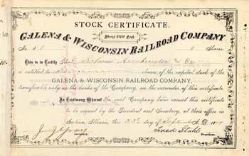 Galena & Wisconsin Railroad