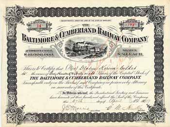 Baltimore & Cumberland Railway