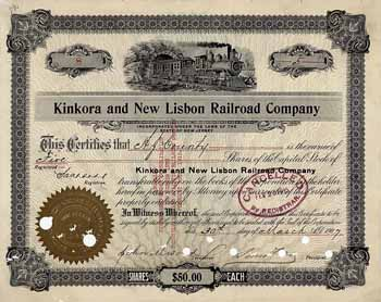 Kinkora & New Lisbon Railroad