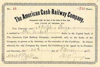 American Cash Railway Co.