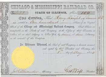 Chicago & Mississippi Railroad