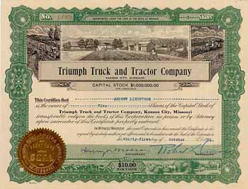Triumph Truck and Tractor Co.