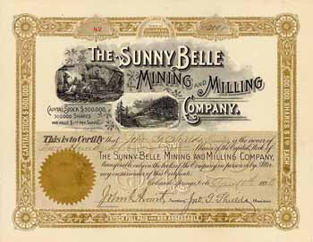 Sunny Belle Mining and Milling Co.