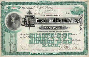 Consolidated Electric Storage Co.