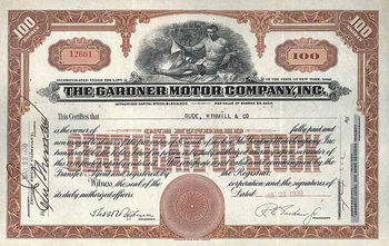 Gardner Motor Co., Inc.