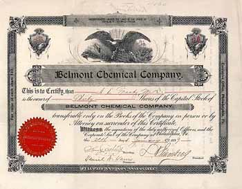 Belmont Chemical Company