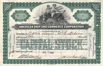 American Ship & Commerce Corp.