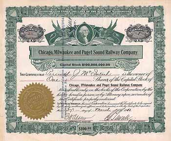 Chicago, Milwaukee & Puget Sound Railway