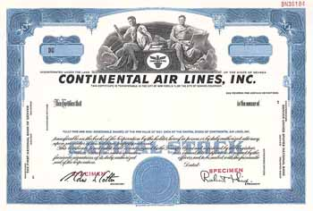 Continental Air Lines, Inc.
