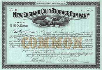 New England Cold Storage Co.