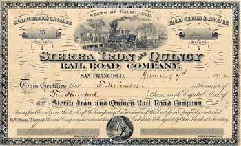 Sierra Iron and Quincy Railroad