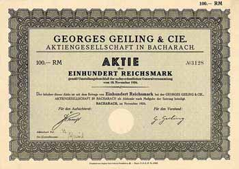 Georges Geiling & Cie. AG
