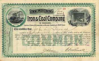 Sinnemahoning Iron & Coal Co. of Pennsylvania