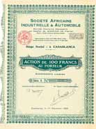 Soc. Africaine Industrielle & Automobile