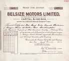 Belsize Motors Ltd.