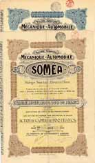 S.A. Mécanique-Automobile SOMEA (2 Stücke)