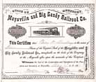 Maysville & Big Sandy Railroad